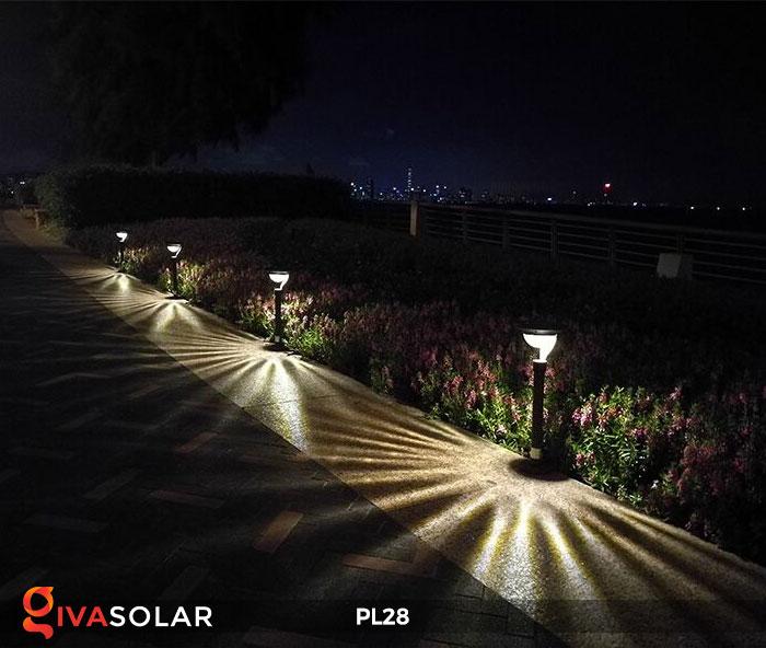 Đèn sân vườn năng lượng mặt trời PL28 5