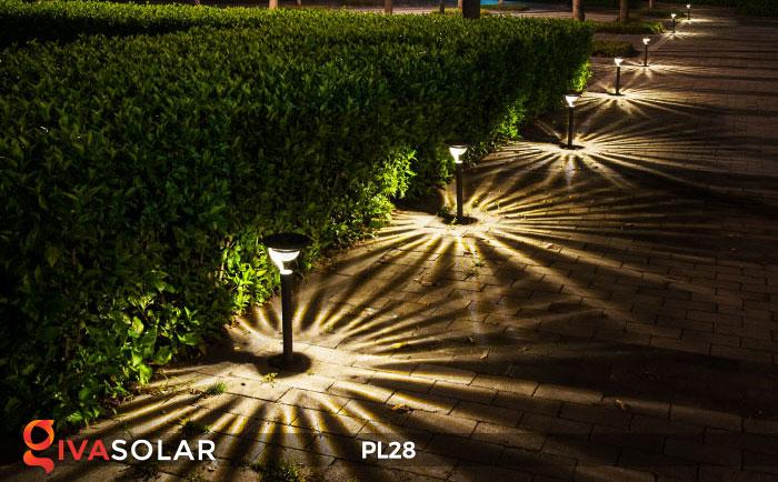 Đèn sân vườn năng lượng mặt trời PL28 7