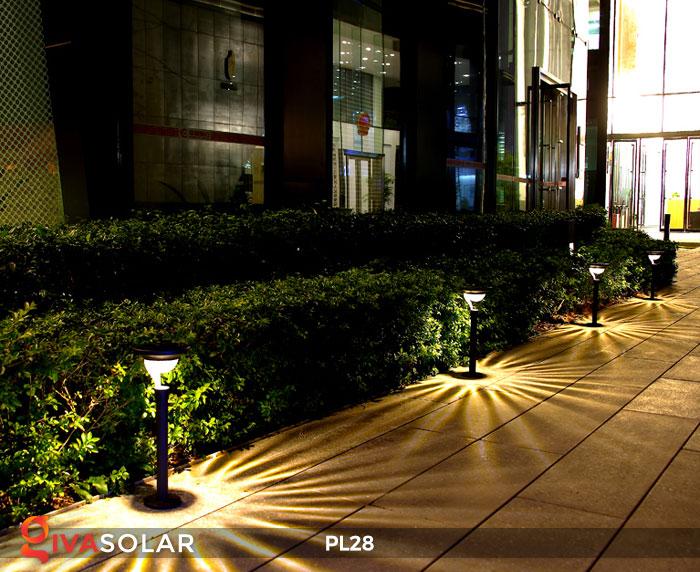 Đèn sân vườn năng lượng mặt trời PL28 8