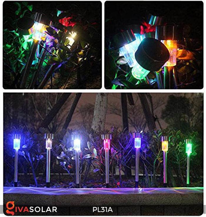 Đèn cắm đất trang trí năng lượng mặt trời PL31A 10
