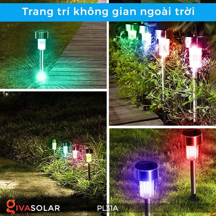 Đèn cắm đất trang trí năng lượng mặt trời PL31A 2