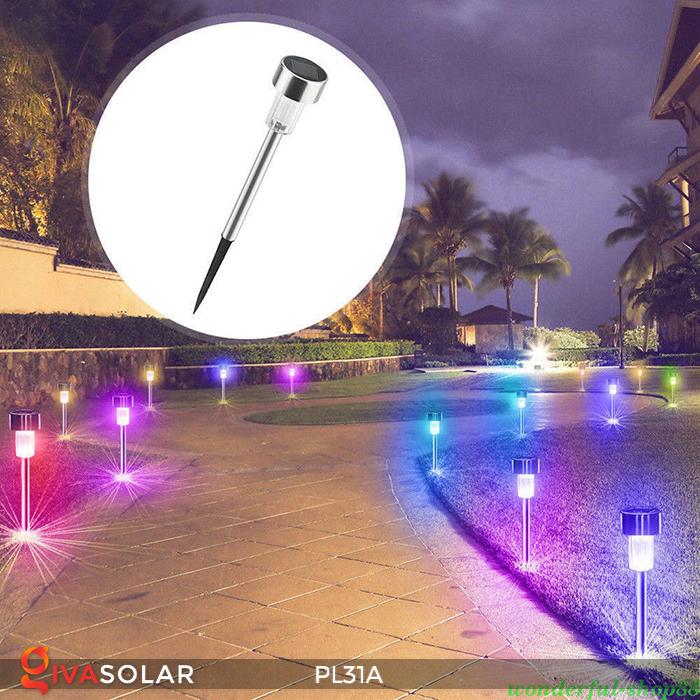Đèn cắm đất trang trí năng lượng mặt trời PL31A 3