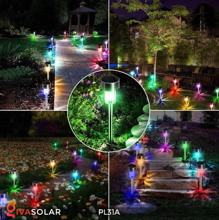 Đèn cắm đất trang trí năng lượng mặt trời PL31A 7