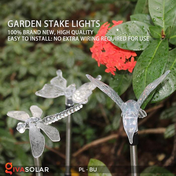 Đèn cắm đất trang trí năng lượng mặt trời PL-BU 10