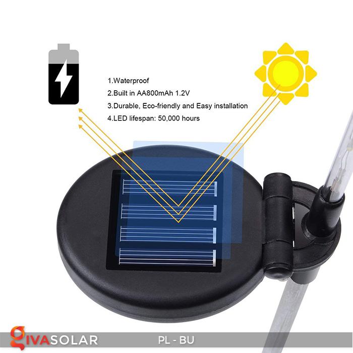 Đèn cắm đất trang trí năng lượng mặt trời PL-BU 17