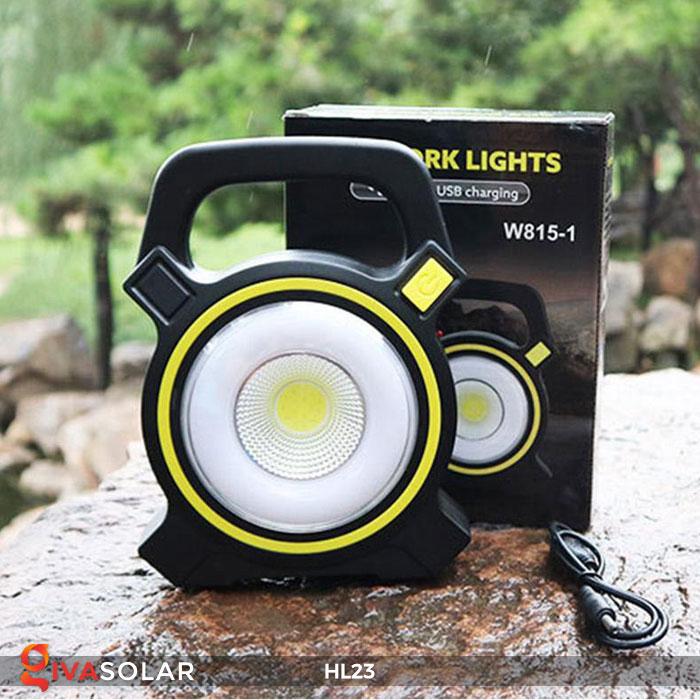 đèn cầm tay năng luongj mặt trời hl23 1