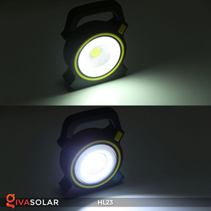 đèn cầm tay năng luongj mặt trời hl23 10
