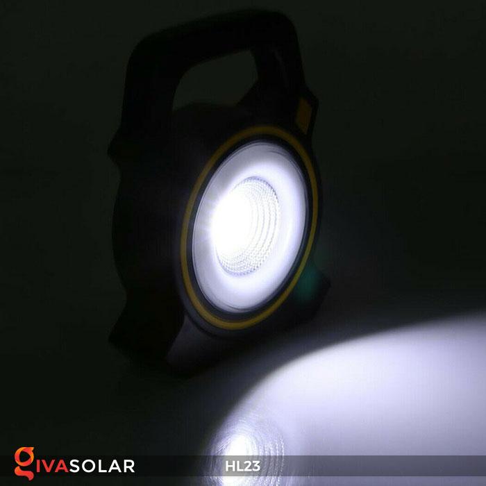 đèn cầm tay năng luongj mặt trời hl23 9