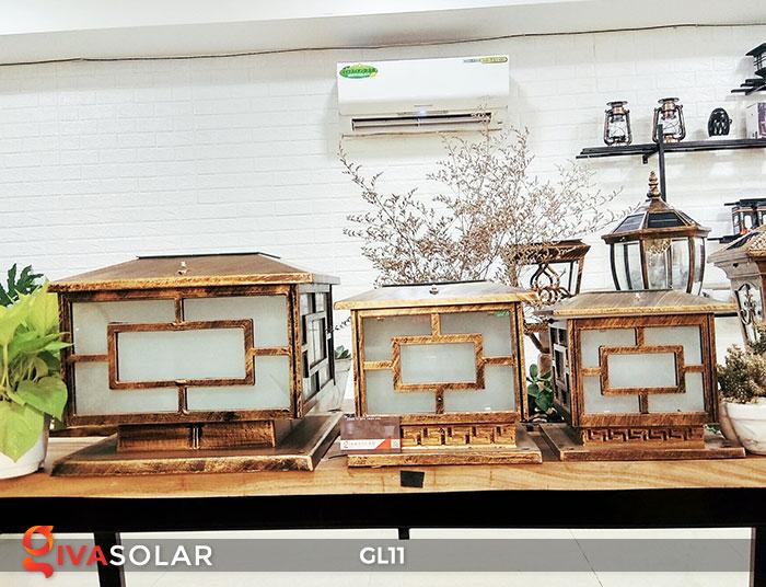 Đèn cổng năng lượng mặt trời GL11 1