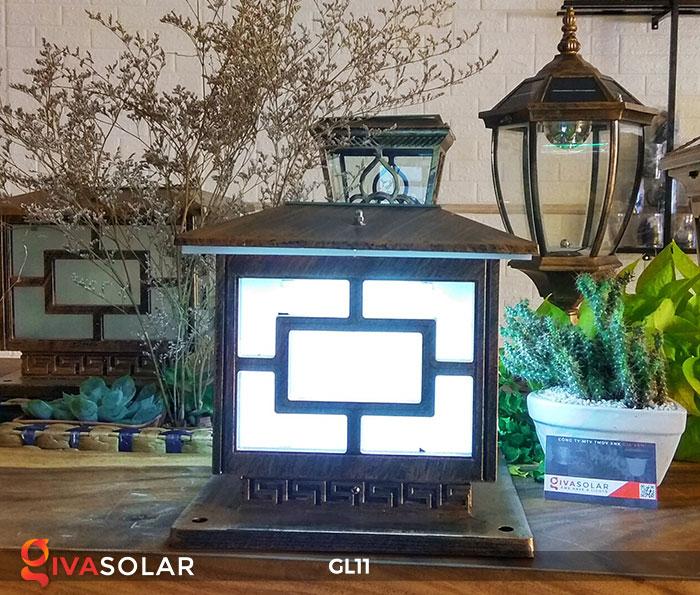 Đèn cổng năng lượng mặt trời GL11 10