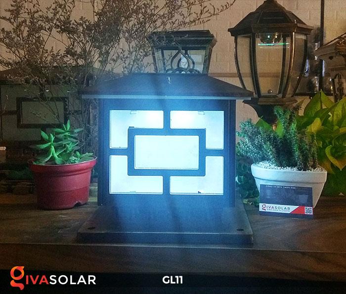 Đèn cổng năng lượng mặt trời GL11 11