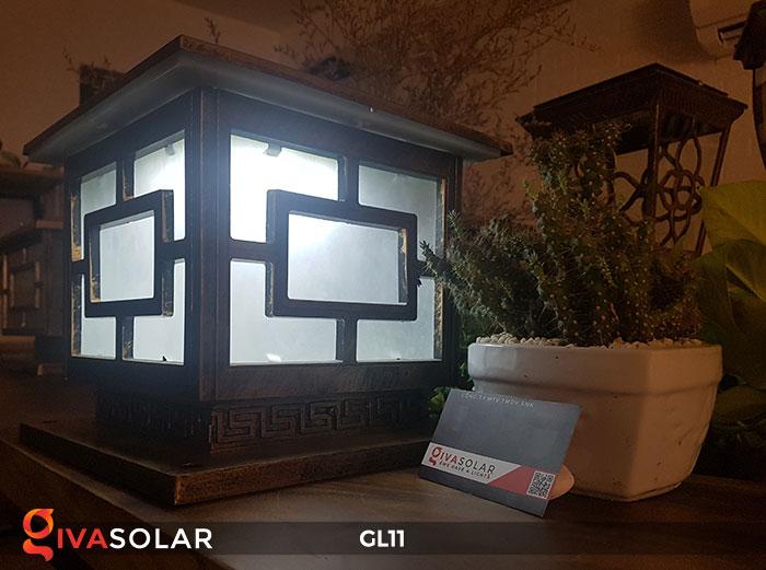 Đèn cổng năng lượng mặt trời GL11 12