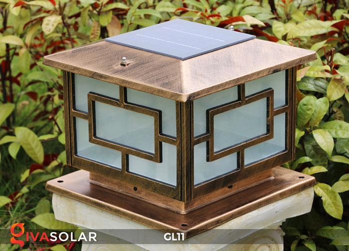 Đèn cổng năng lượng mặt trời GL11 14