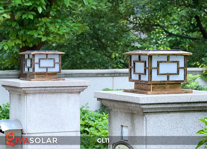 Đèn cổng năng lượng mặt trời GL11 15