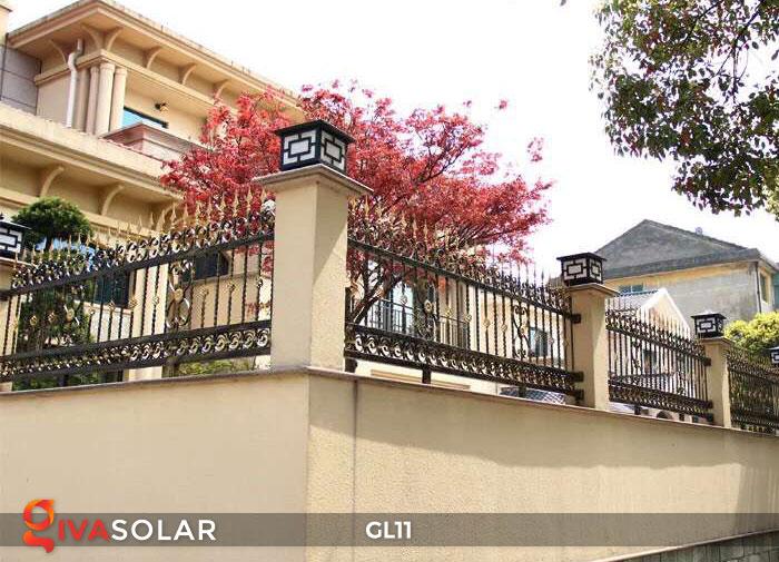 Đèn cổng năng lượng mặt trời GL11 16