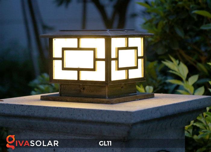 Đèn cổng năng lượng mặt trời GL11 17