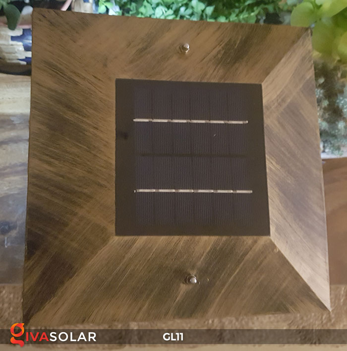 Đèn cổng năng lượng mặt trời GL11 18