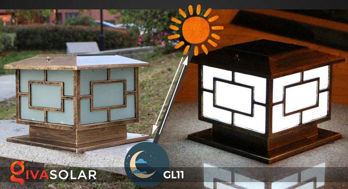 Đèn cổng năng lượng mặt trời GL11 7