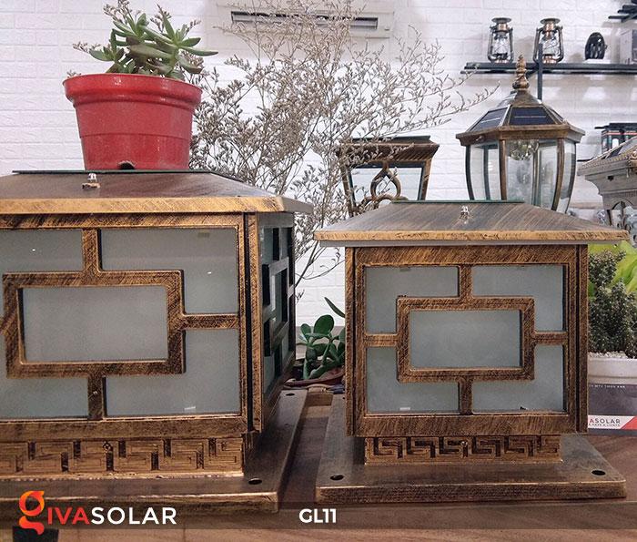 Đèn cổng năng lượng mặt trời GL11 8