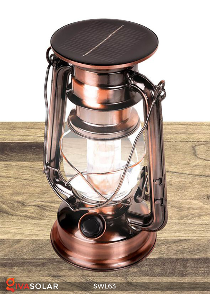 Đèn dầu cổ trang trí năng lượng mặt trời SWL63 1
