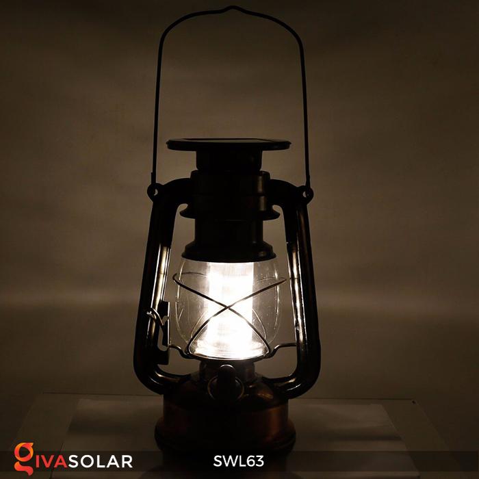 Đèn dầu cổ trang trí năng lượng mặt trời SWL63 3