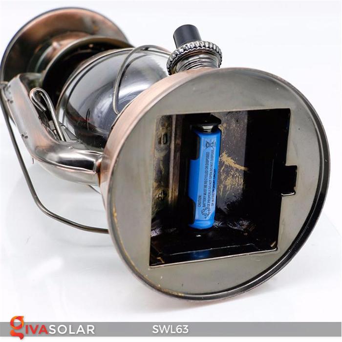 Đèn dầu cổ trang trí năng lượng mặt trời SWL63 4