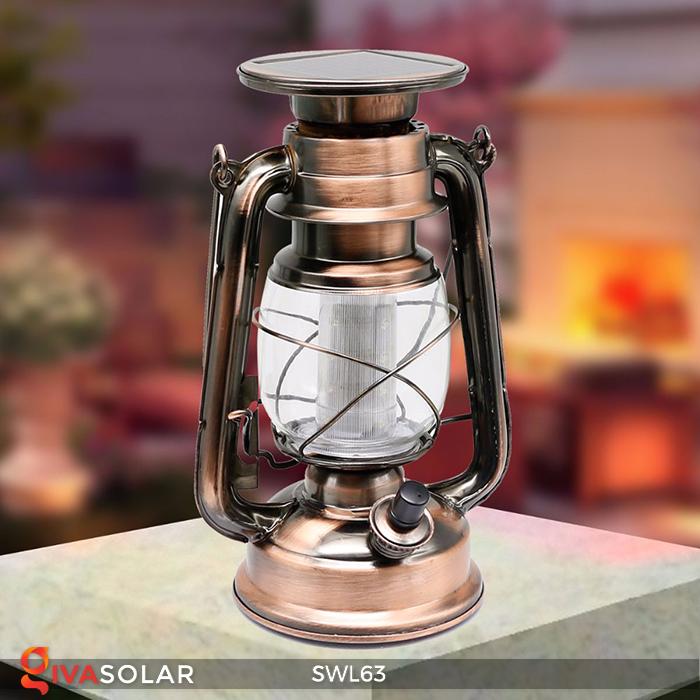 Đèn dầu cổ trang trí năng lượng mặt trời SWL63 5