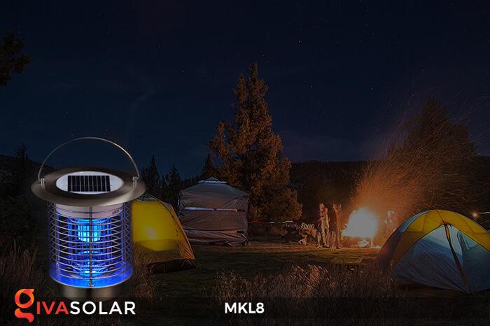 Đèn diệt côn trùng năng lượng mặt trời MKL8 1