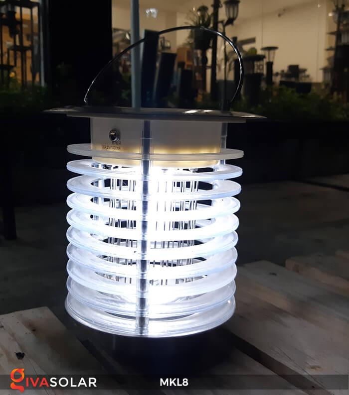 Đèn diệt côn trùng năng lượng mặt trời MKL8 10