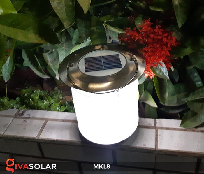 Đèn diệt côn trùng năng lượng mặt trời MKL8 11
