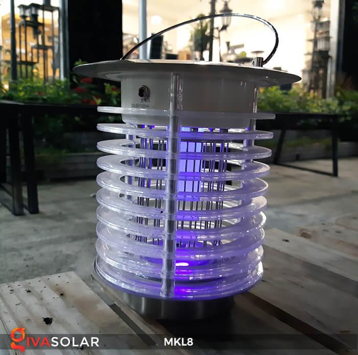 Đèn diệt côn trùng năng lượng mặt trời MKL8 12