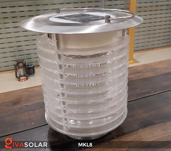 Đèn diệt côn trùng năng lượng mặt trời MKL8 13