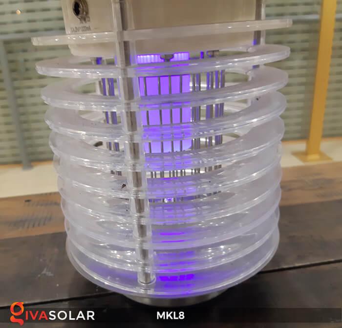 Đèn diệt côn trùng năng lượng mặt trời MKL8 15