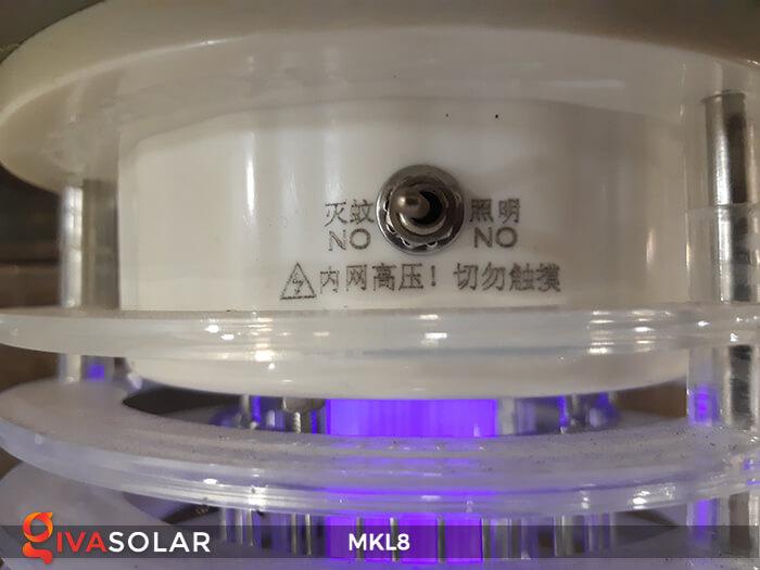 Đèn diệt côn trùng năng lượng mặt trời MKL8 16