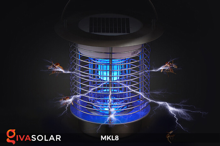 Đèn diệt côn trùng năng lượng mặt trời MKL8 2