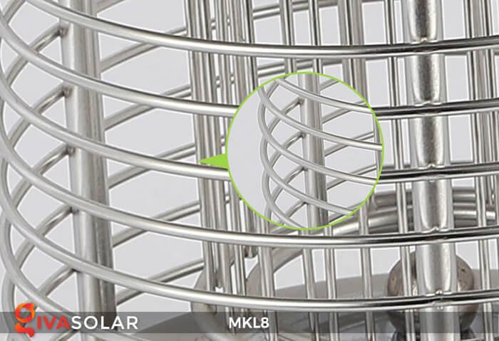 Đèn diệt côn trùng năng lượng mặt trời MKL8 20