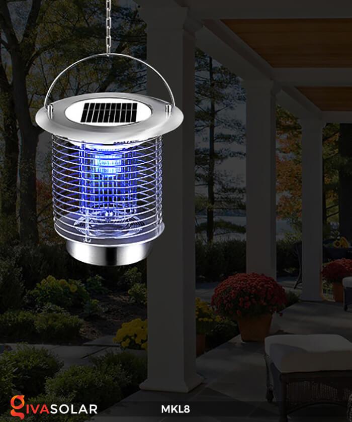 Đèn diệt côn trùng năng lượng mặt trời MKL8 3