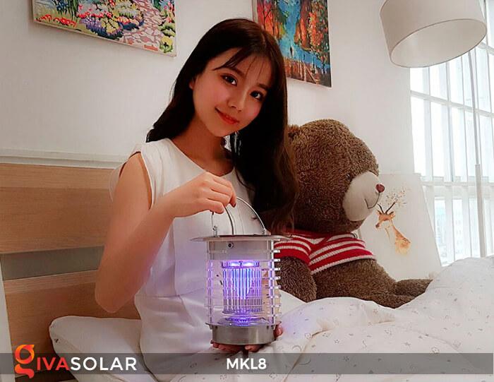 Đèn diệt côn trùng năng lượng mặt trời MKL8 4