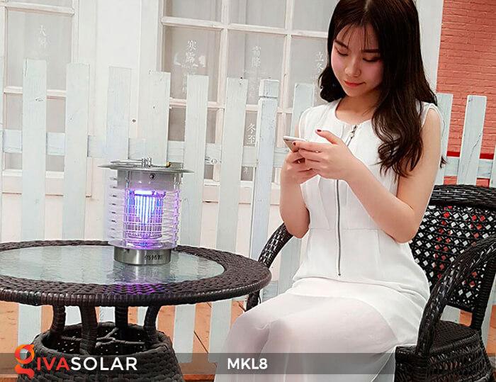 Đèn diệt côn trùng năng lượng mặt trời MKL8 5