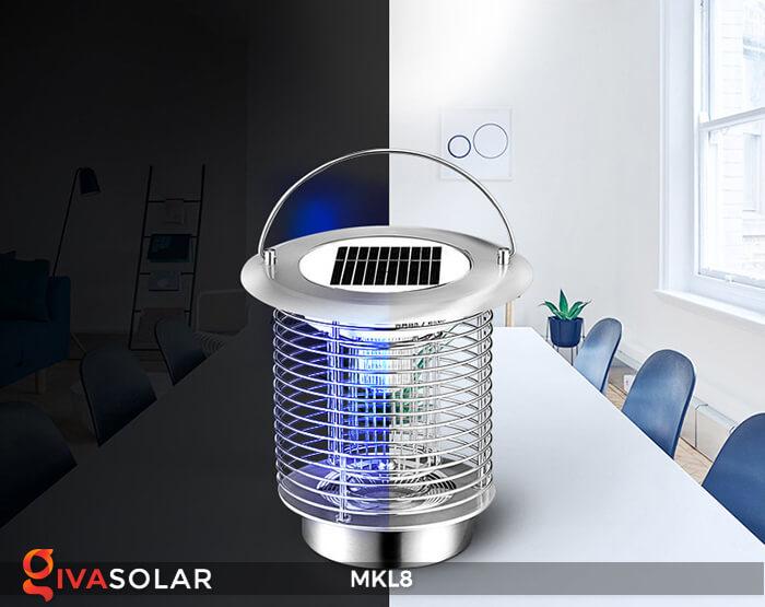 Đèn diệt côn trùng năng lượng mặt trời MKL8 6