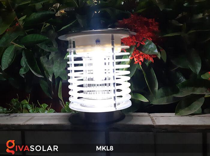 Đèn diệt côn trùng năng lượng mặt trời MKL8 9