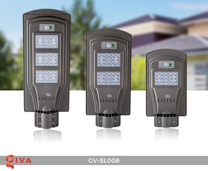 Đèn đường chạy năng lượng mặt trời GV-SL008 1