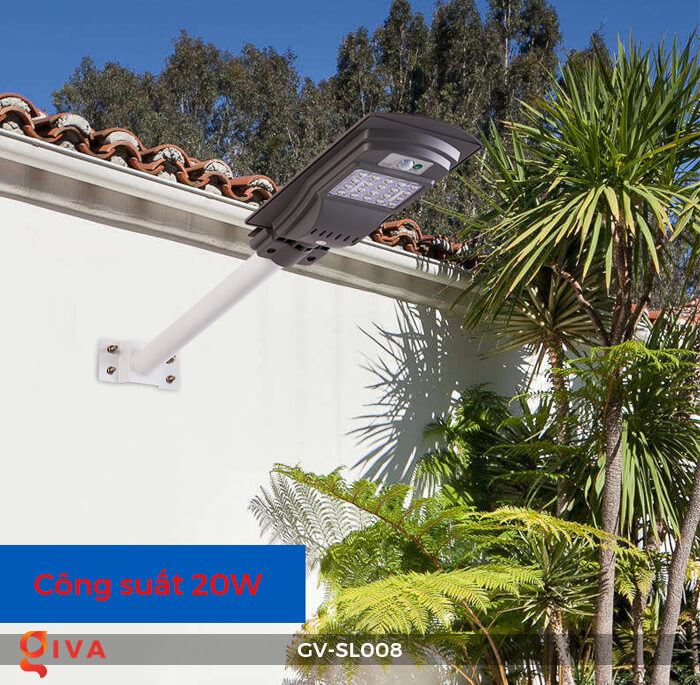 Đèn đường chạy năng lượng mặt trời GV-SL008 15