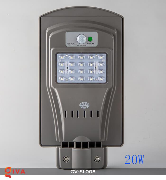 Đèn đường chạy năng lượng mặt trời GV-SL008 2