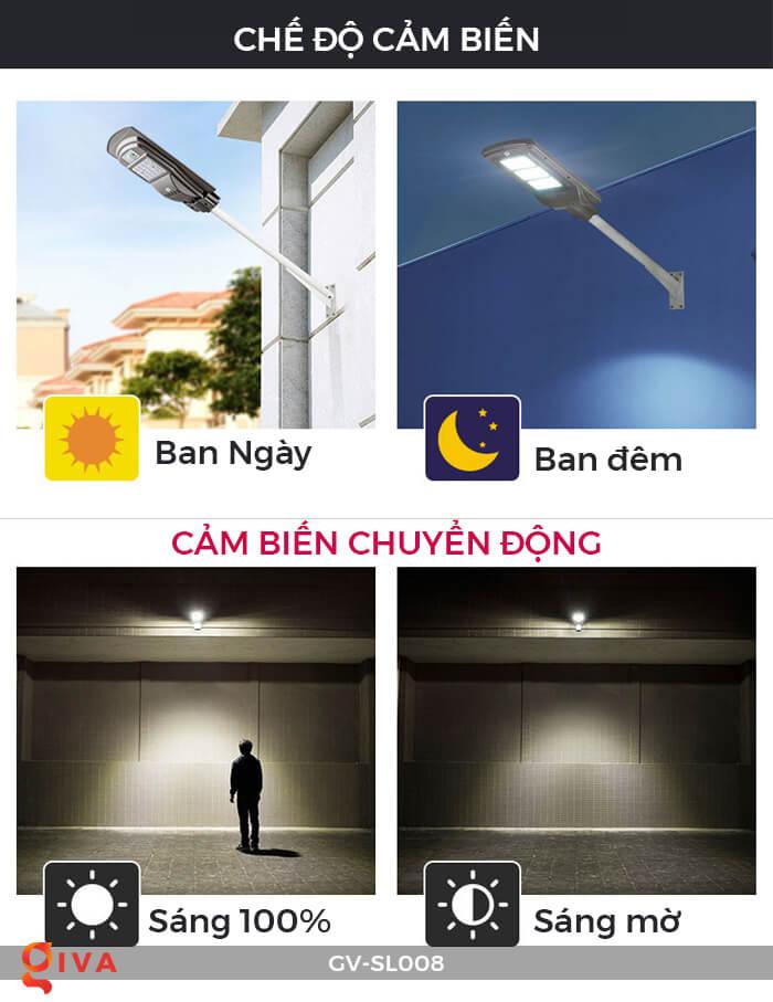 Đèn đường chạy năng lượng mặt trời GV-SL008 9