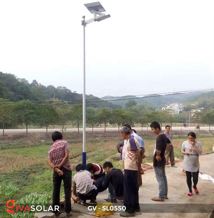 Đèn đường năng lượng mặt trời SL0550 14