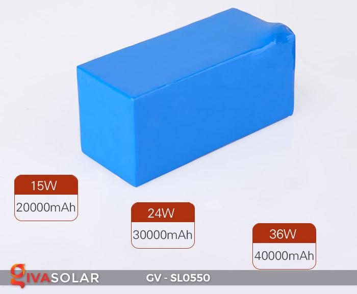 Đèn đường năng lượng mặt trời SL0550 19