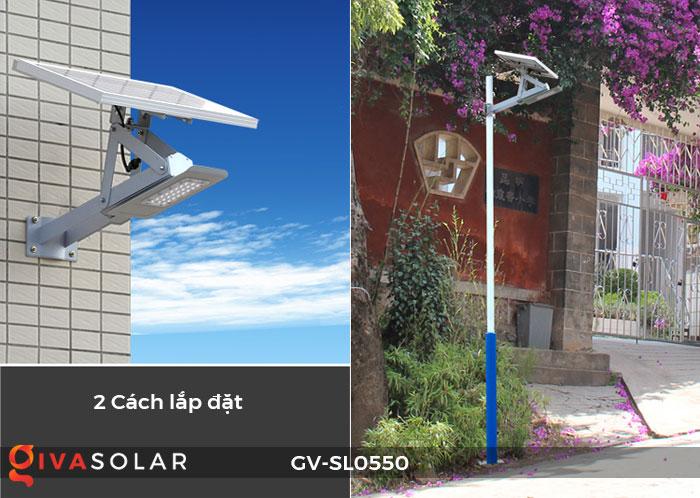 Đèn đường năng lượng mặt trời SL0550 2
