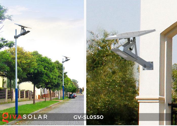 Đèn đường năng lượng mặt trời SL0550 4
