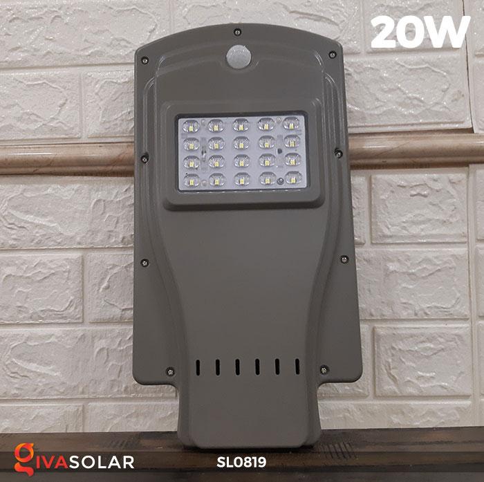 Đèn LED đường phố năng lượng mặt trời SL0819 2